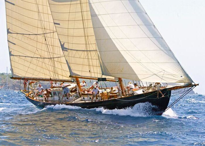Classic Sailing Yacht When And If Sailing