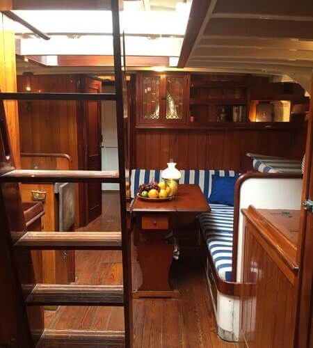 Classic Sailing Yacht When And If Stairs