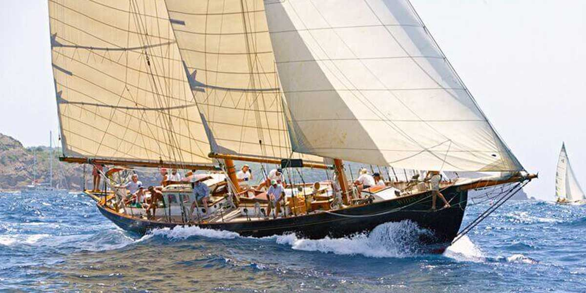 Classic Sailing Yacht When And If