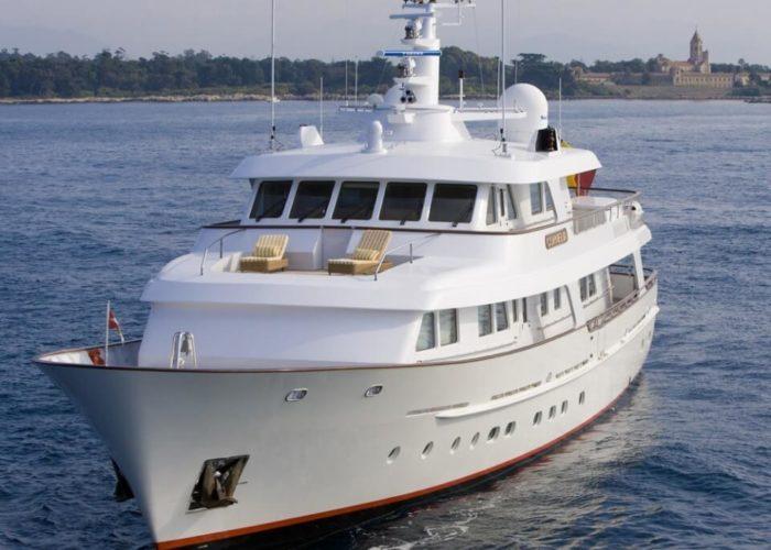Classic Motor Yacht Cornelia Bow View