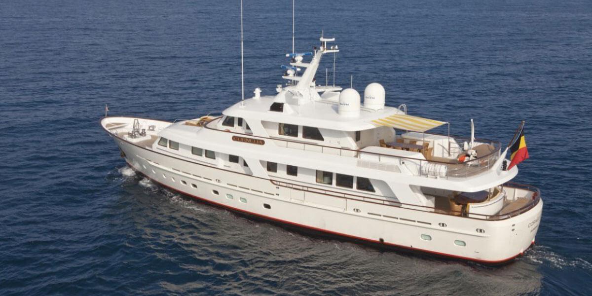 Classic Motor Yacht Cornelia