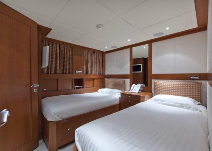 Classic Motor Yacht Cornelia Twin Cabin