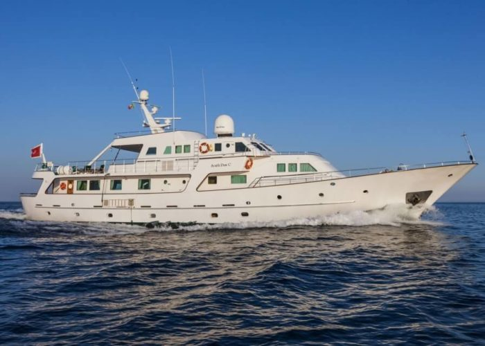 Classic Motor Yacht South Paw C Cruising