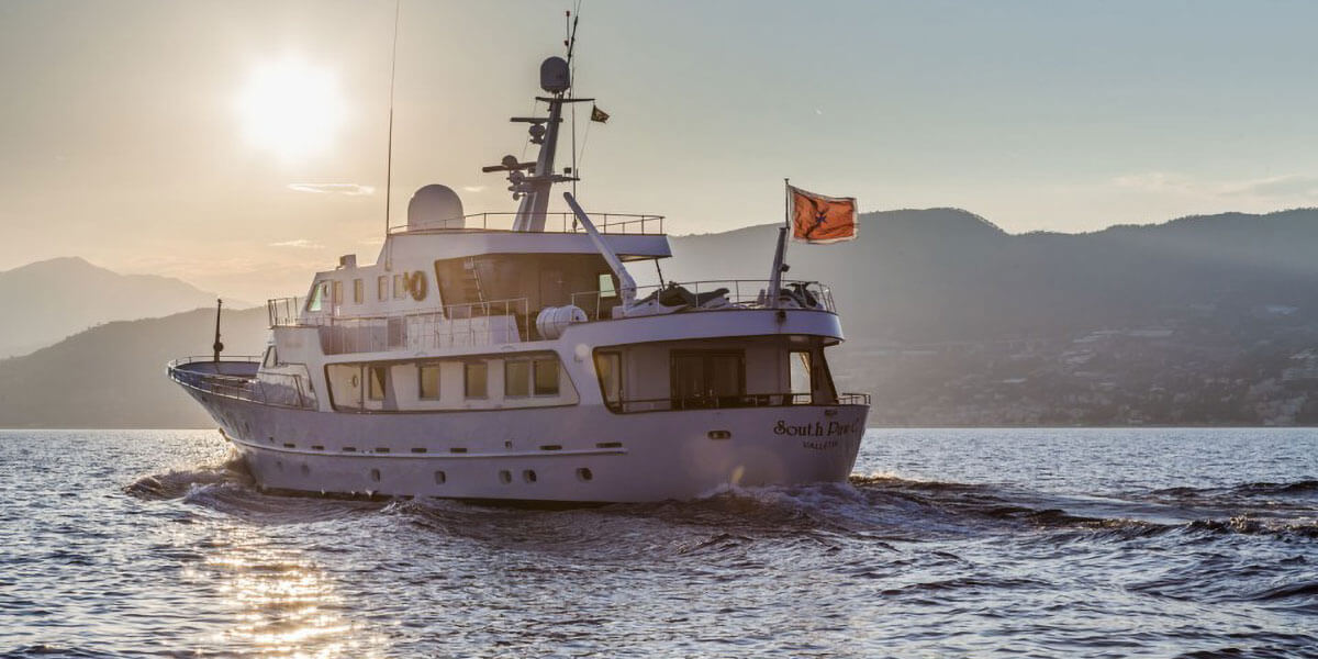 Classic Motor Yacht South Paw C