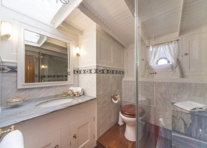 Classic Sailing Yacht Puritan Bathroom