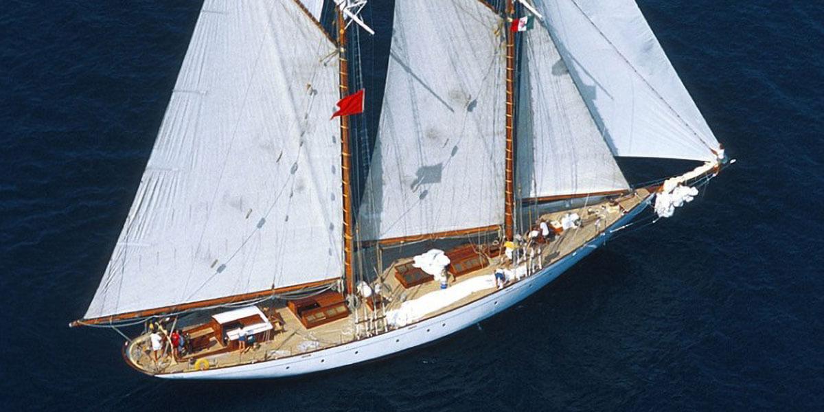 Classic Sailing Yacht Puritan