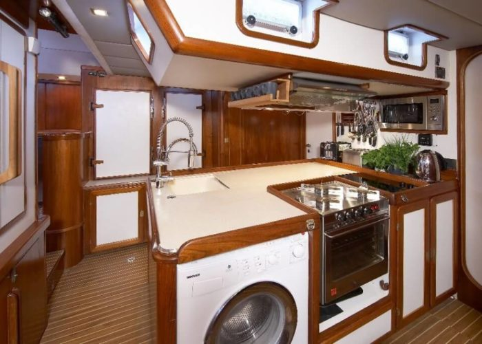 Classic Sailing Yacht Noheea Galley