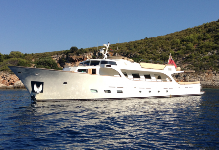 motor yacht Conquest main