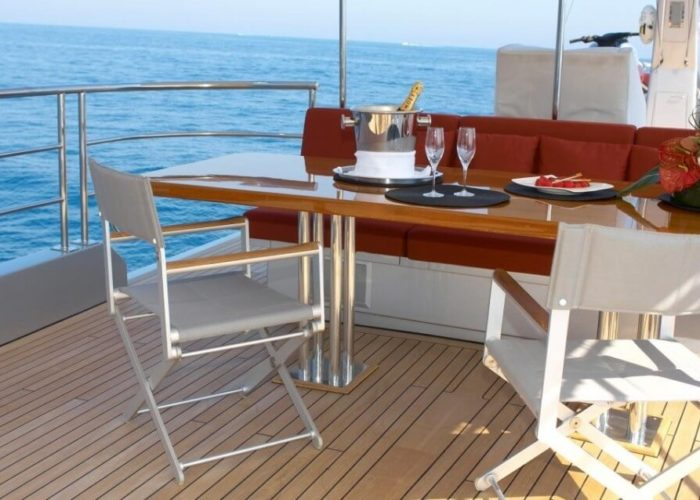 Classic Motor Yacht Tempest WS Sundeck
