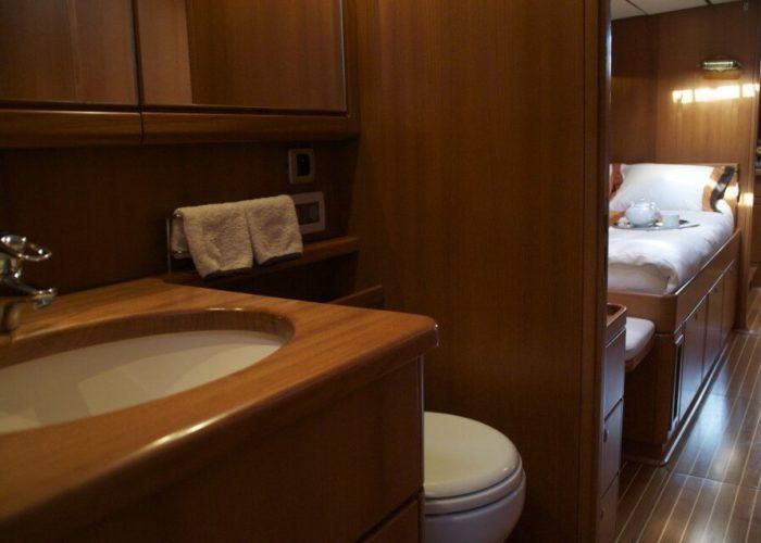 Classic Sailing Yacht Volador Bathroom