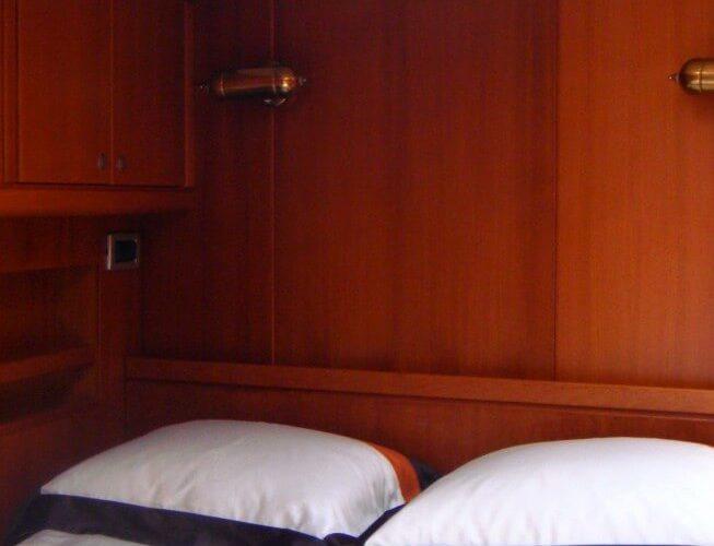 Classic Sailing Yacht Volador Cabin