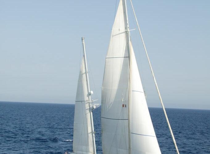 Classic Sailing Yacht Volador Sailing