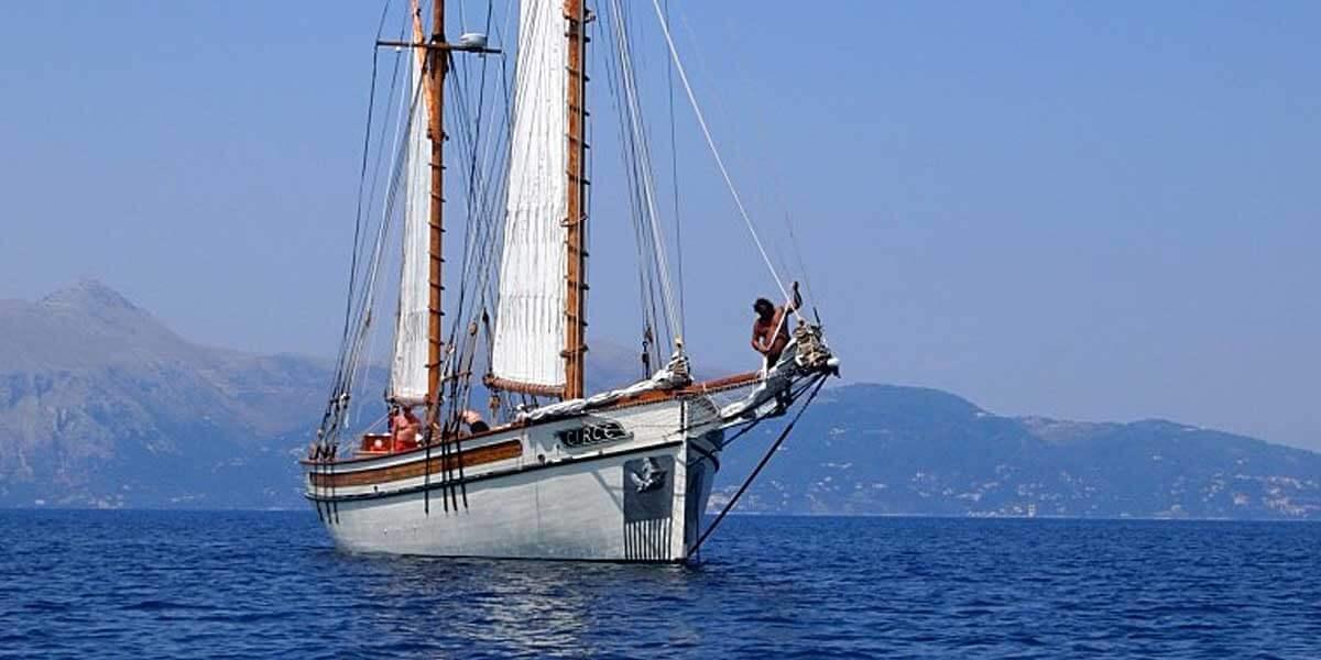 Classic Sailing Yacht Circe