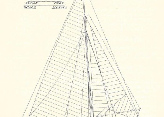 Classic Sailing Yacht Heron II Plans
