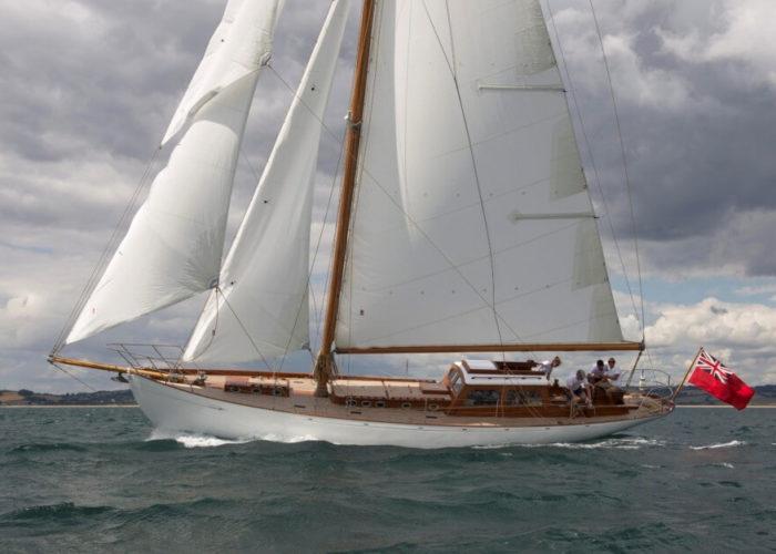 Classic Sailing Yacht Heron II Sailing