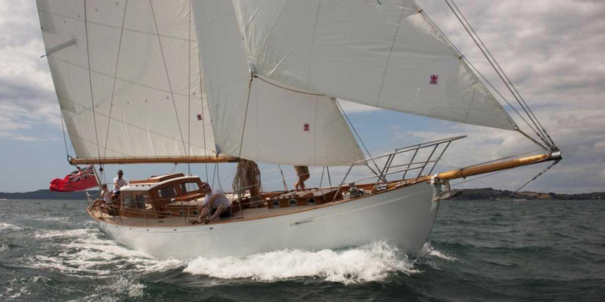 Classic Sailing Yacht Heron II