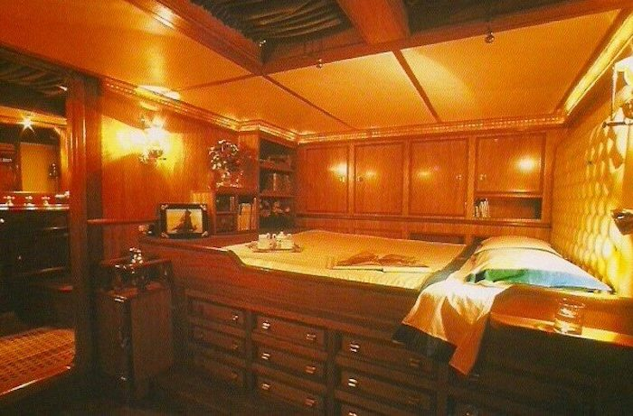 Classic Sailing Yacht Black Swan Aft Cabin