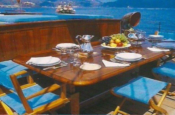 Classic Sailing Yacht Black Swan Deck Saloon