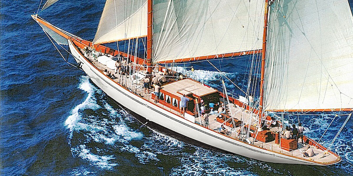Classic Sailing Yacht Black Swan