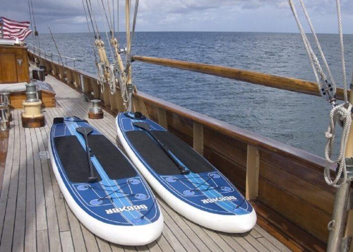Classic Sailing Yacht Eros Paddleboards