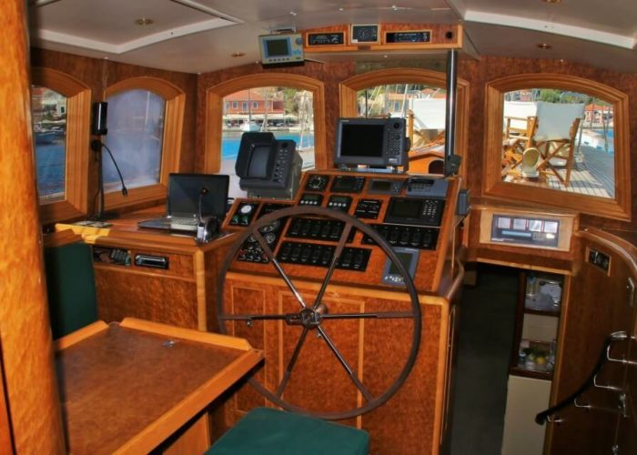 Classic Sailing Yacht Windweaver of Pennington Helm