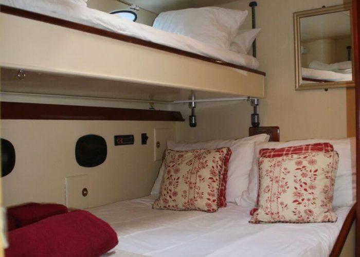 Classic Sailing Yacht Windweaver of Pennington Triple Cabin