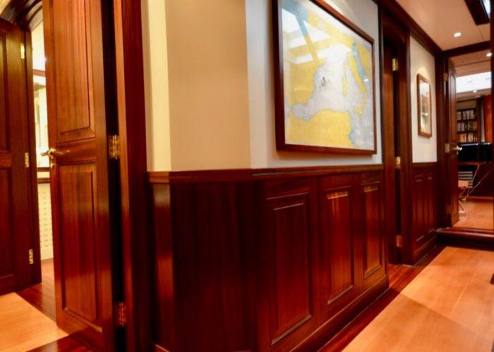 Classic Sailing Yacht Shenandoah Of Sark Corridor
