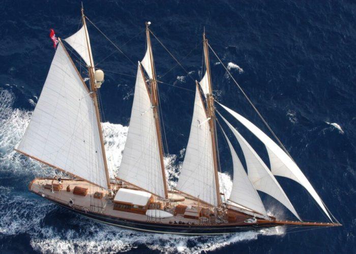 Classic Sailing Yacht Shenandoah Of Sark Sailing