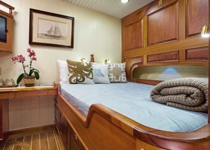 Classic Sailing Yacht Columbia Cabin