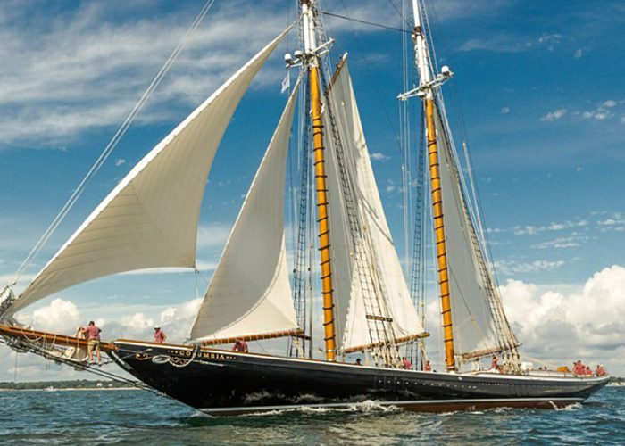 Classic Sailing Yacht Columbia