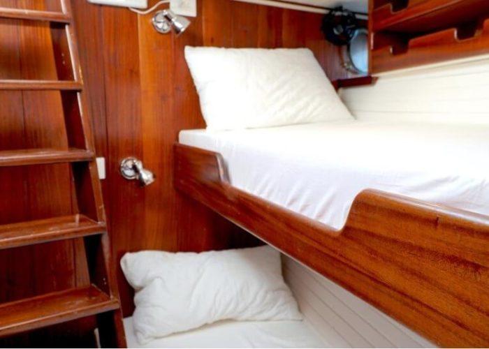 Classic Motor Sailor Yacht Truelove Twin Cabin