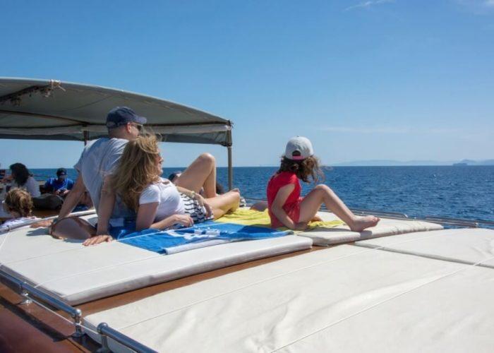 Classic Motor Yacht Amanda Sun Matresses
