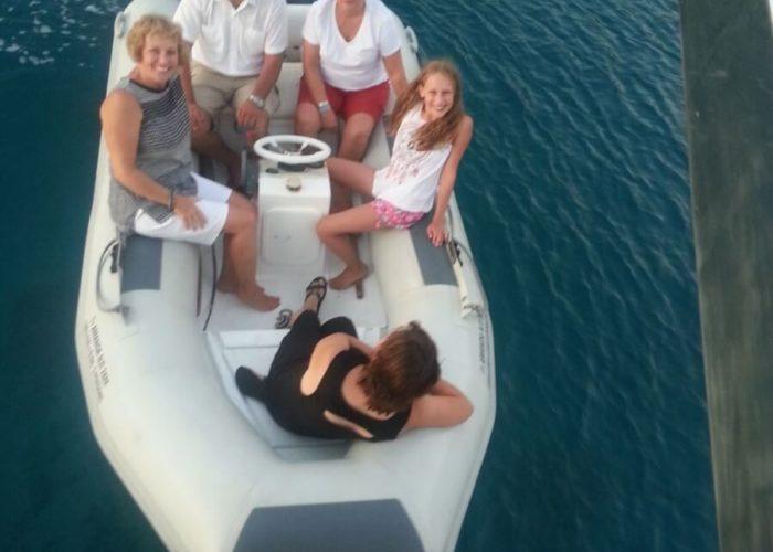 Classic Motor Yacht Amanda Tender