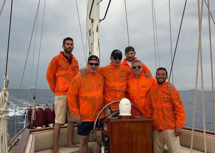 Classic Sailing Yacht Lamadine Crew