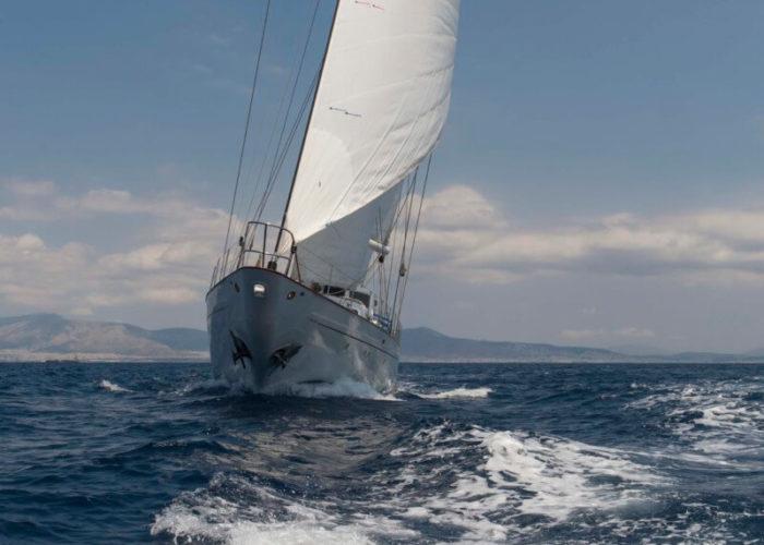 Classic Sailing Yacht Lamadine Sailing