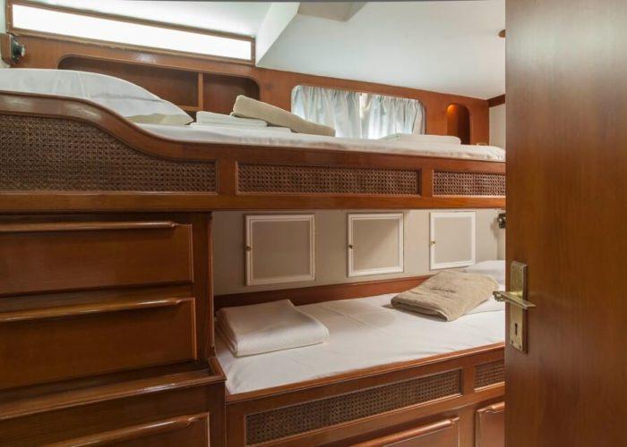 Classic Sailing Yacht Lamadine Twin Cabin
