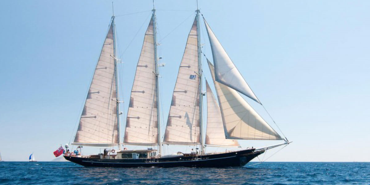 Classic Sailing Yacht Malcolm Miller