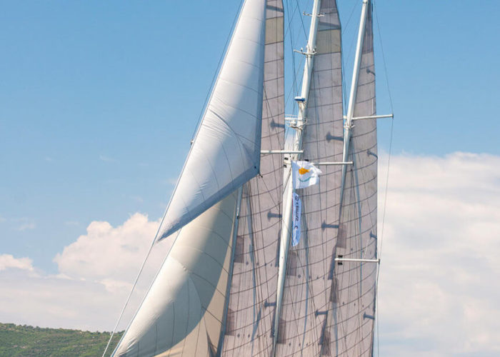 Classic Sailing Yacht Malcolm Miller Sailing