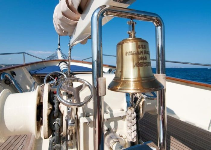 Classic Sailing Yacht Malcolm Miller Ships Bell