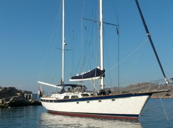 Classic Sailing Yacht Magic Bow View
