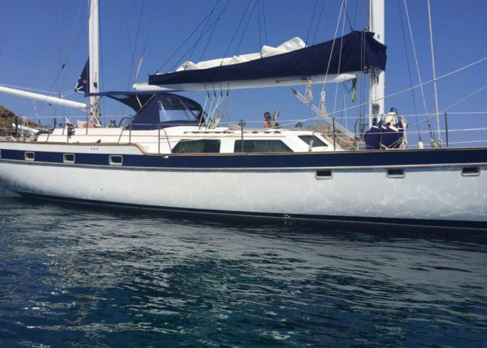 Classic Sailing Yacht Magic Magic Starboard View