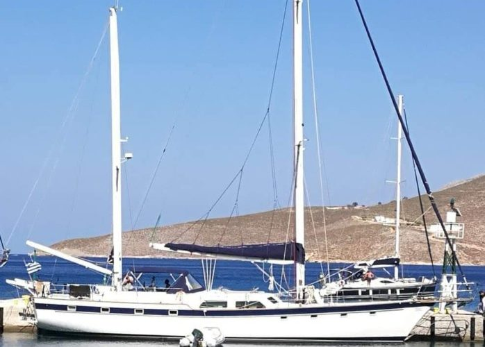 Classic Sailing Yacht Magic On Quay