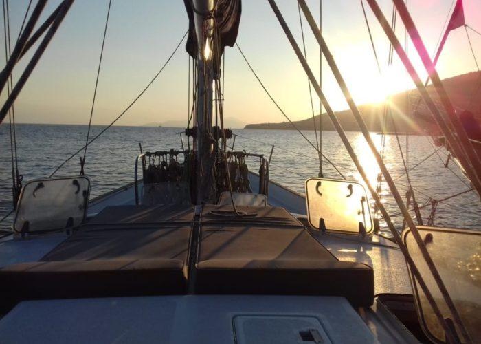 Classic Sailing Yacht Magic Sun Mat 2
