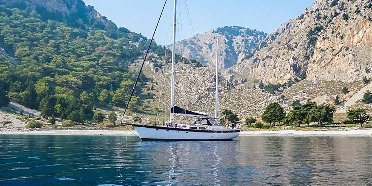 Classic Sailing Yacht, Magic