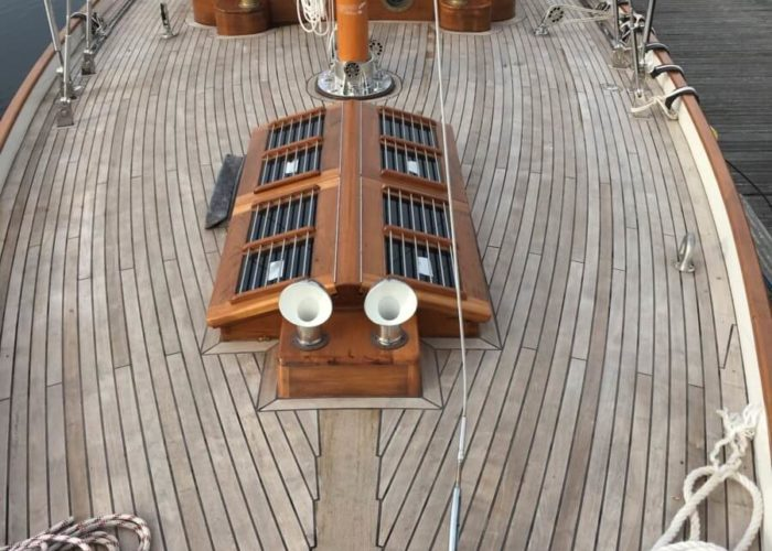 Classic Yacht Helena Deck View