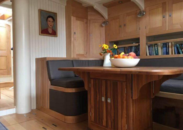 Classic Yacht Helena Saloon