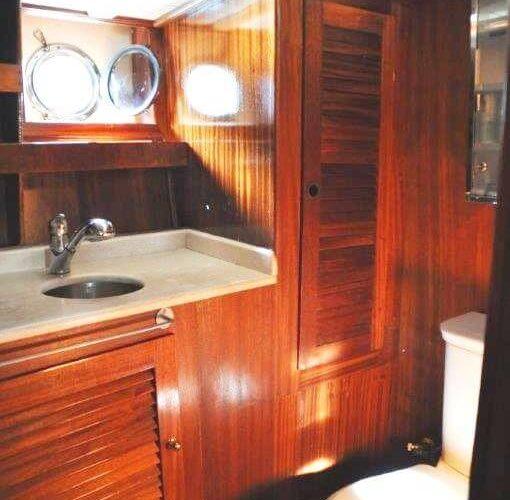 Classic Sailing Yacht Adara Head