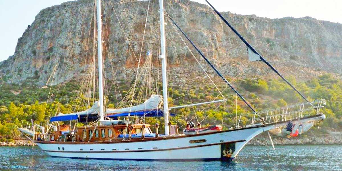 Classic Sailing Yacht Adara