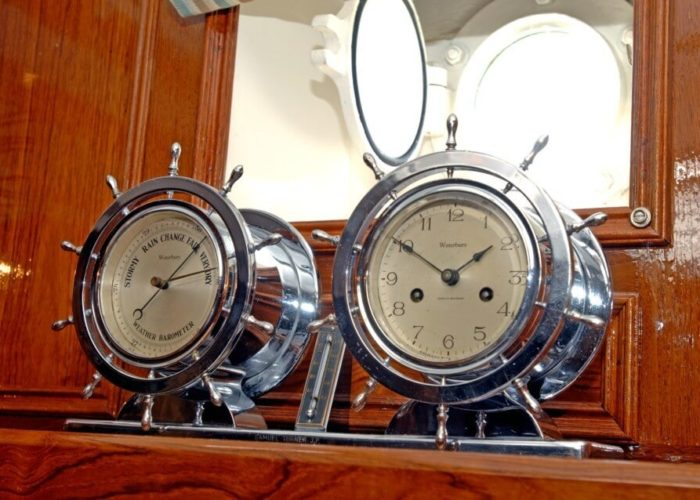 Classic Sailing Yacht Halcyon Instruments