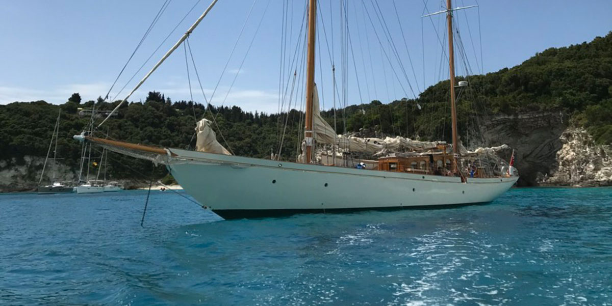 Classic Sailing Yacht Halcyon